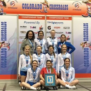 Congrats to 18's Who Won A Bid At Crossroads!